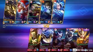 AoE Squad Gameplay: Uranus late game, tanker harder than Johnson.