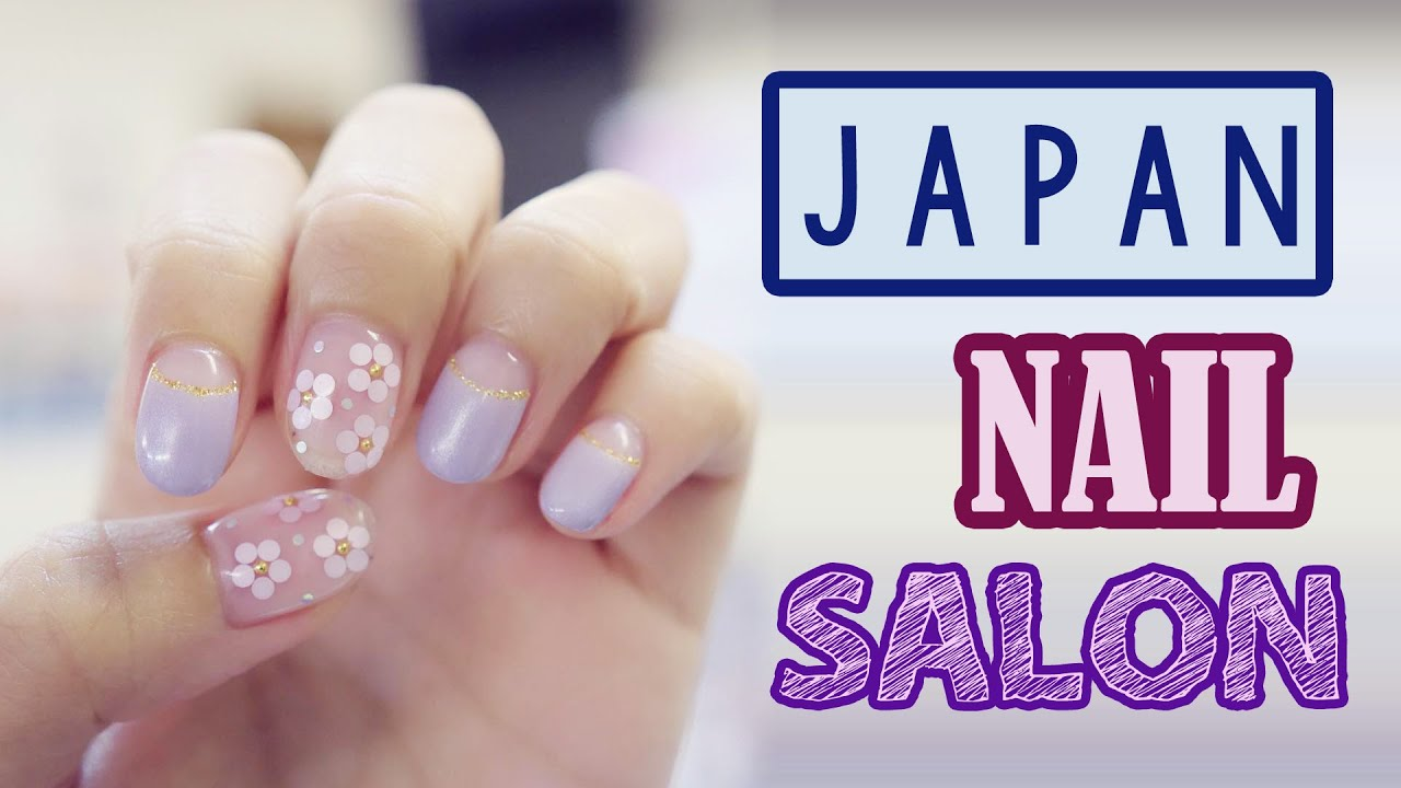 NAIL SALON IN JAPAN | LOBAL | KimDao in JAPAN - YouTube