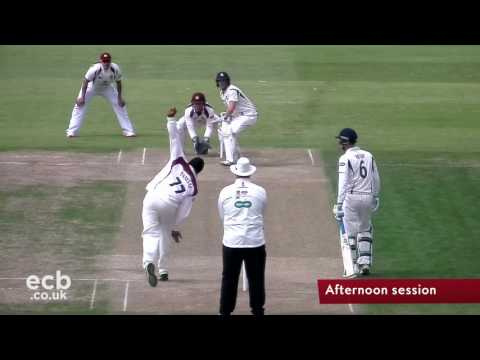 Specsavers County Championship NCCC Vs Kent: Day 1