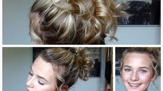♡ Hår tutorial - Krøllet, kort hår + opsætning ♡
