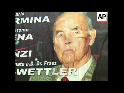 Row over proposed pardon for convicted Nazi war criminal