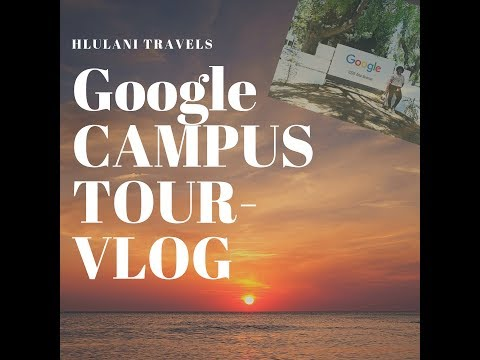 Hlulani Travels | Google campus tour | San Jose | Tech girl 's dream
