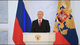 LIVE  Putin delivers annual address to Federal Assembly in Moscow