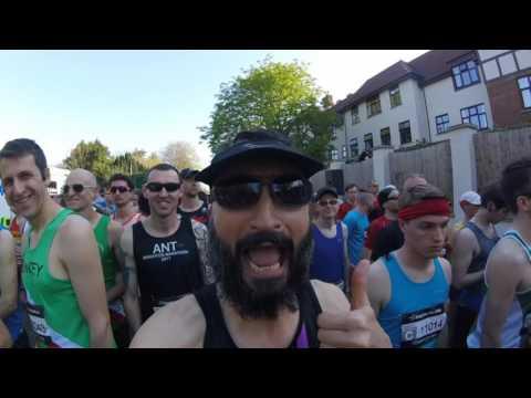 Hills, Heat and Hurt! - Brighton Marathon 2017   Injury sucks!