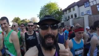 Hills, Heat and Hurt! - Brighton Marathon 2017 | Injury sucks!