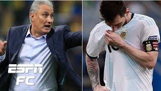 Pressure on Brazil and Argentina's Lionel Messi ahead of massive semifinal | Copa America