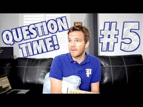 Question Time! The Telecaster, Music Theory, Jobs and Soundgarden