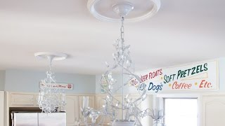 Ceiling Medallions - How to choose them, and how to install a ceiling medallion