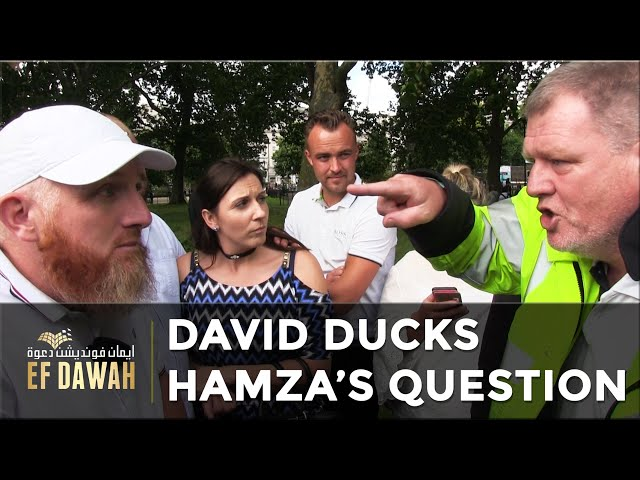 David Ducks Hamza's Question