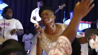 Diana Asamoah at Abba Father Cross Over Night at the Conference Centre.mp3