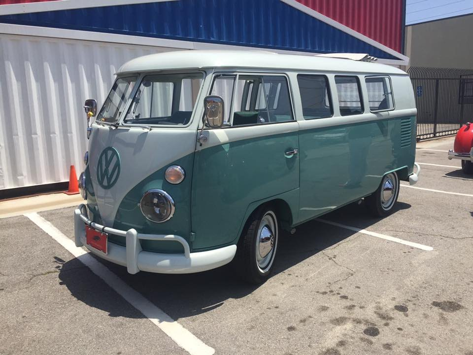 Riding In A 1964 Volkswagen Bus