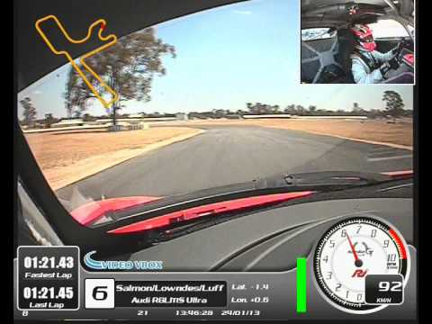 Warren Luff Time Attack Winton 1.20.9 Lap Audi R8
