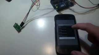 Как узнать код кнопки радиопульта 433 МГц при помощи смартфона.