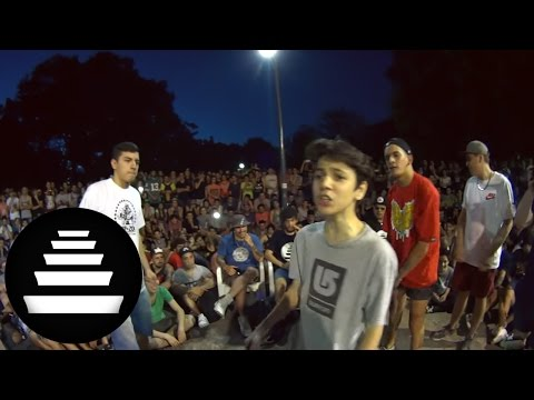 KLAN & REPLIK vs TRUENO & UNDERDANN - FINAL (2VS1 - 11/12) - El Quinto Escalon
