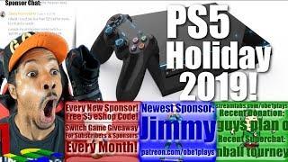 Playstation 5 Coming Holiday 2019 Rumor