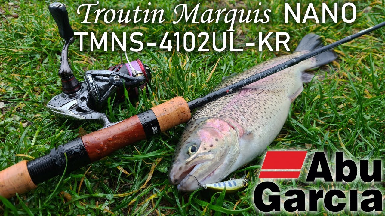 Beautiful Movie #10 Abu Garcia TroutinMarquis Nano TMNS-4102UL-KR