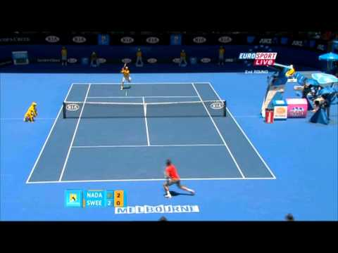 Australian Open 2011  2ndRound  Nadal vs Sweeting HD