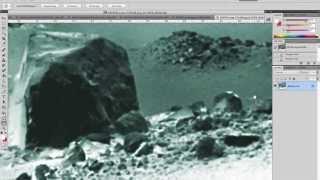 NASA-JPL FORGOT TO EDIT A MARS PHOTO. MER SOL 3798