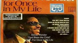 Stevie Wonder - God Bless the Child