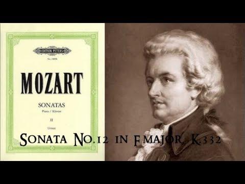 Mozart - Sonata No.12 in F major, K.332