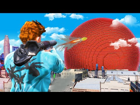 WORLD RECORD Biggest Explosion In GTA 5.. (Mods)
