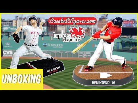 "Andrew Benintendi Imports Dragon Figure Red Sox de Boston 6/"" MLB Baseball"