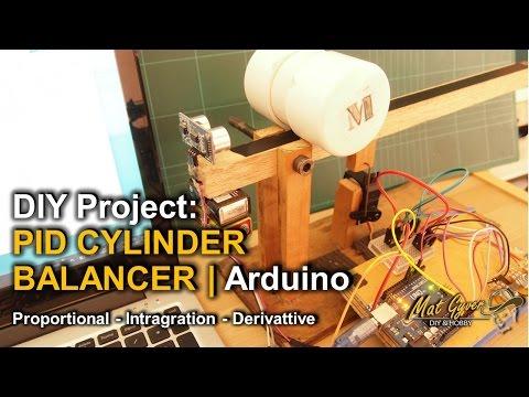 PID Cylinder Balancer | Arduino (akan datang)