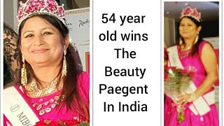 GrandMother in India Wins the Beauty Pageant Creates History By Walking Ramp With Her Husband.