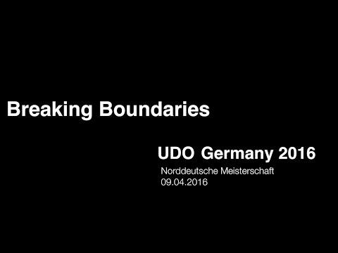Breaking Boundaries    UDO Germany Norddeutsche Meisterschaft 2016 (Cloppenburg)