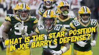 """What is the """"Star"""" position in Joe Barry's defense?"""