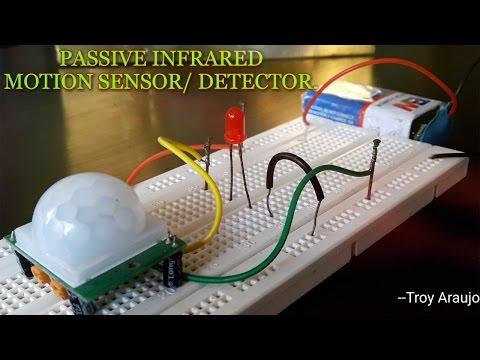 "How to make a ""PIR MOTION SENSOR/DETECTOR"" on a Breadboard?"