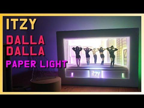 DIY l Make a ITZY - Dalladalla Paper Light BOX