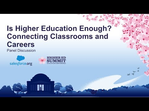 Is Higher Education Enough? Connecting Classrooms and Careers