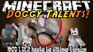 Doggy Talents Mod Para Minecraft 1.16.5 (Mejora A Tu Lobo)