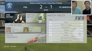 Chip Plays With Friends -  FIFA 14 - DUBSTEP GOALS (HD)