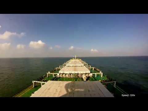 M/V Rysy przejście przez Kanał Sueski (Port Said - Suez)