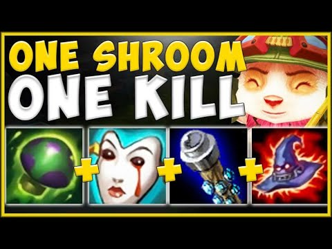 BE CAREFUL WHERE YOU STEP! ONE TEEMO SHROOM = ONE KILL! TEEMO S10 TOP GAMEPLAY! - League of Legends