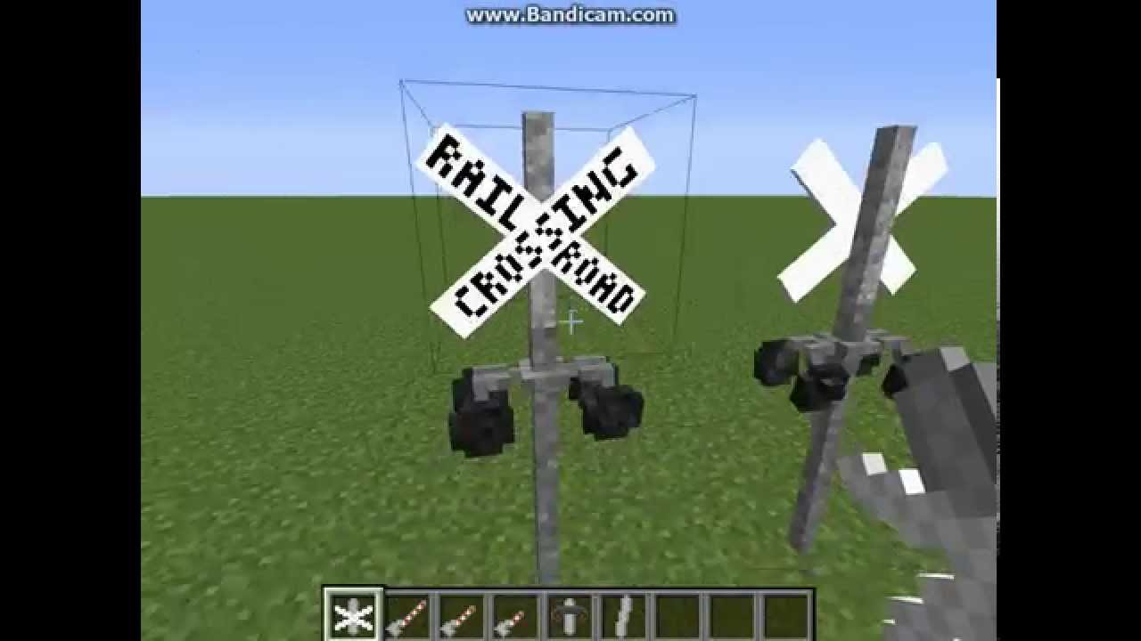 Minecraft - Railroad Crossings - Lights and Gates ...