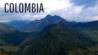 Beautiful Colombia Part 1 - The Central Andes (Cordillera Central)