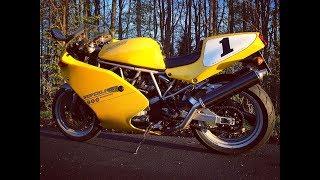 Ducati 900 SuperLight III '95 (number 445)