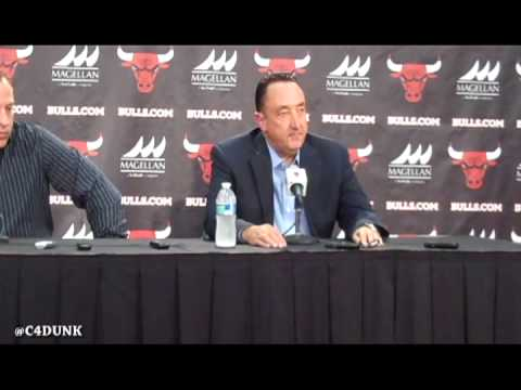 Gar Forman discusses Bulls recovery, free agents and Luol Deng