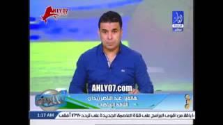 شاهد لأول مرة عبد الناصر زيدان يكشف سر تغير صوته من طبيعي الى الوضع الحالي ودور حسني مبارك