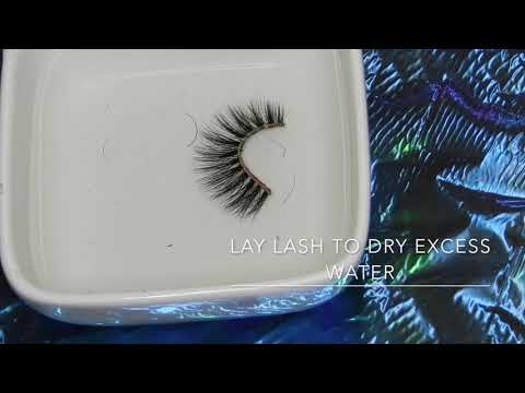 Dipped Tip #1 : How To Clean Mink Lashes