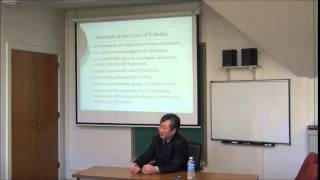 "Brownbag: ""Korean Diaspora in Central Asia,"" Valeriy Khan (History). 9/16/2014"