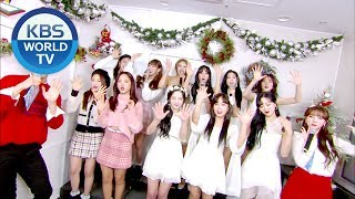 Two teams with special winter performances! Gugudan, LOVELYZ!  [Music Bank / ENG, CHN /2018.12.21]