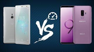 Speedtest Xperia XZ2 & Galaxy S9+: So sánh hiệu năng