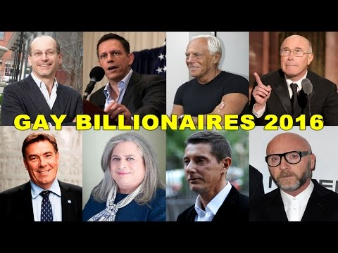 8 Openly Gay Billionaires In The World In 2016