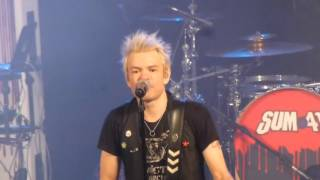 SUM 41 I Still waiting + In too deep Live @ Paris Trianon 22 02 2016