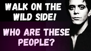 Lou Reed Walk On The Wild Side Song Meaning | MishMash Song Analysis.