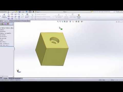 Dessin technique section et coupe youtube - Coupe et section dessin technique ...